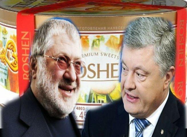 """Коломойський: """"Я посварився з Порошенком через жарт *95 кварталу* про торт ROSHEN. Відео"""