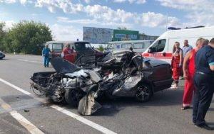 У ДТП на дорогах України