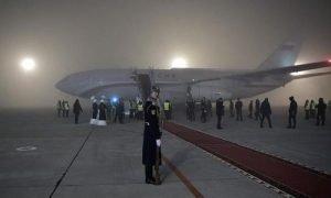 Самолет с Путиным