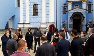 Похорон батька Порошенко