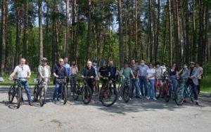 Зеленський в Залісся зустрівся з журналістами
