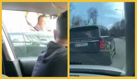 """Нардеп-миллионер Фельдман устроил """"форсаж"""" на дорогеи подрезал другого водителя. Видео"""