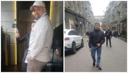 Басту поймали в Киеве! Охрана репера набросилась на парня возле ресторана из-за вопроса о Крыме. Видео