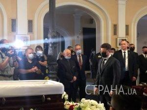 Владимир Зеленский приехал проситься с Григорием Чапкисом