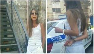 Пьяная жена таможенника устроила скандал в Киеве